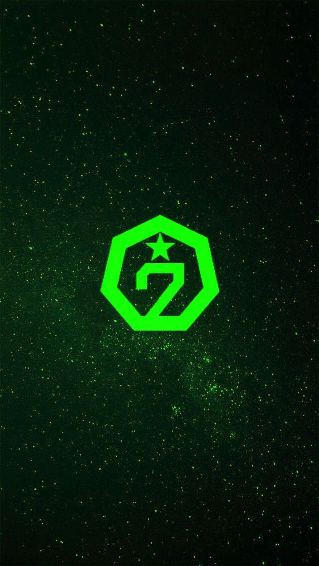 Green Aesthetic Kpop Got7 Aghase Igot7 Wallpaper Papeldeparede Lockscreen Freetoedit Got7 Logo Green Aesthetic Got7
