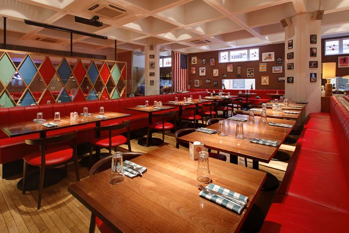 Cheap and cheerful kid-friendly restaurants in London.