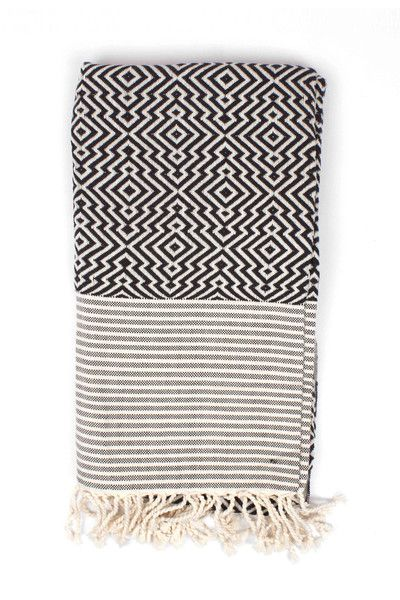 Inca Hammam Towel by Bohemia Design. Handwoven in Turkey from 100% cotton.
