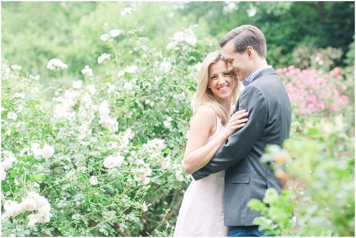 New Jersey Engagement | Summit, New Jersey | Reed Reeves Arboretum engagement photos | Summer time engagement session Lisa + Tyler // Engaged