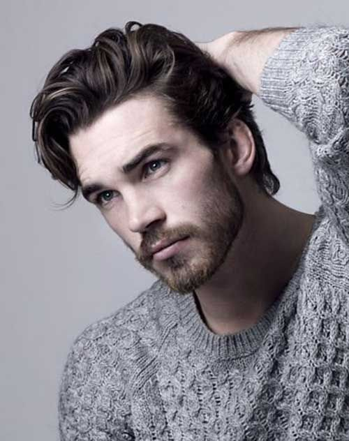 Mens Long Hairstyles Custom 232 Best For The Boy Images On Pinterest  Men Hair Styles Hair Cut