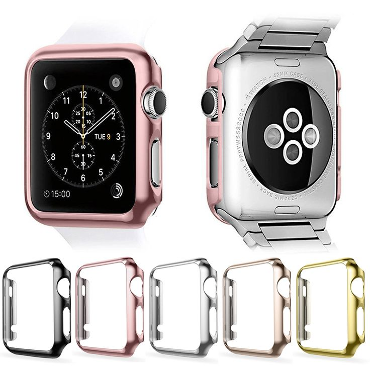 $4.99 (Buy here: https://alitems.com/g/1e8d114494ebda23ff8b16525dc3e8/?i=5&ulp=https%3A%2F%2Fwww.aliexpress.com%2Fitem%2FHard-PC-Material-Protective-Cover-Case-for-i-Watch-Apple-Watch-38mm-42mm-Shockproof-Dustproof-Precise%2F32712903150.html ) Hard PC Material Protective Cover Case for i-Watch Apple Watch Series 1/2 38mm 42mm Shockproof Dustproof Precise Cutouts Frame for just $4.99