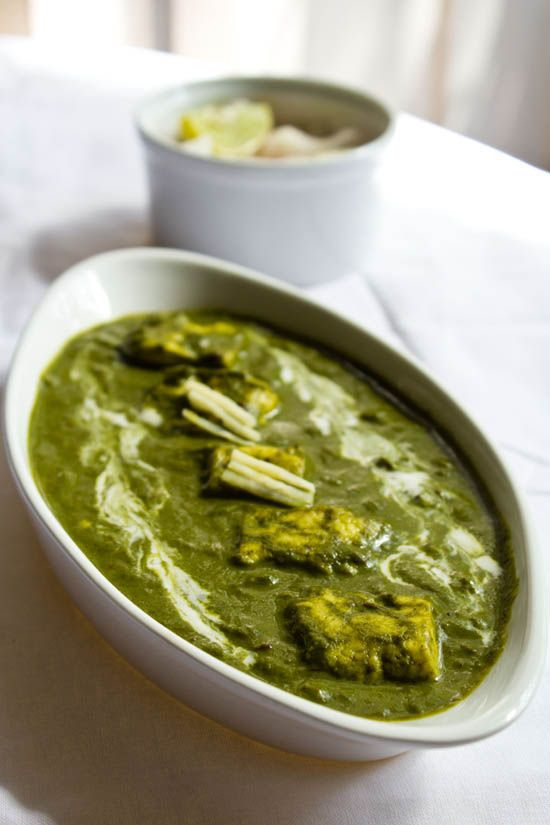 Best palak paneer I've ever made. Granted, I left out the cream in the final mixture, (only dairy was the paneer plus a yogurt dollop for serving), but the instructions are perfect and allow timing for prep while cooking,