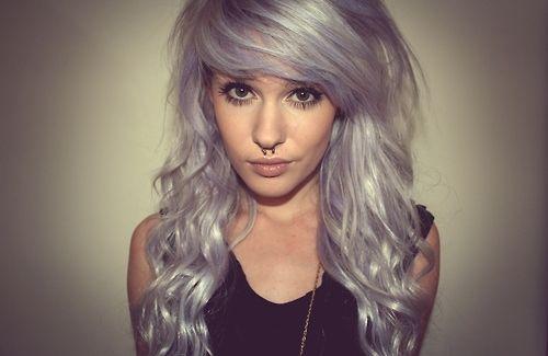 awesome hair!: Platinum Blonde, Purple Hair, Mermaids Hair, Hair Colors, Silver Hair, Hair Style, Hair Looks, Pastel Hair, Lilacs Hair