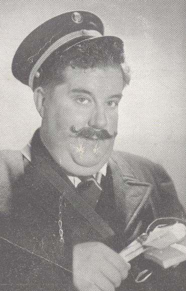 som Hr. Lykkeberg, i Lykken kommer fra 1942.
