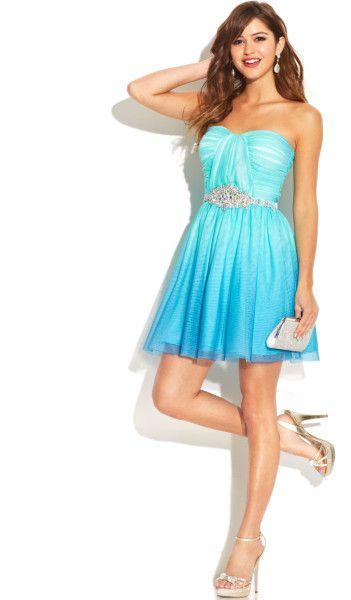 Bright Dresses for Juniors