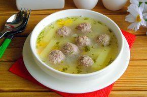 рецепт картофельного супа с фрикадельками