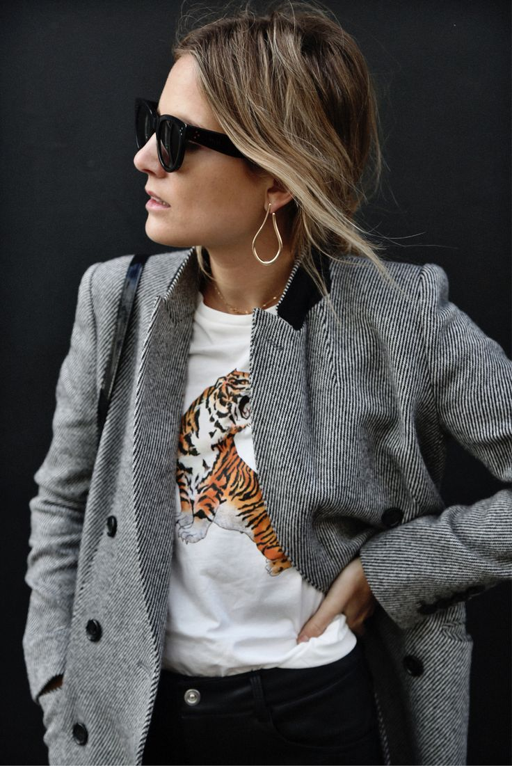 chic tiger tee style