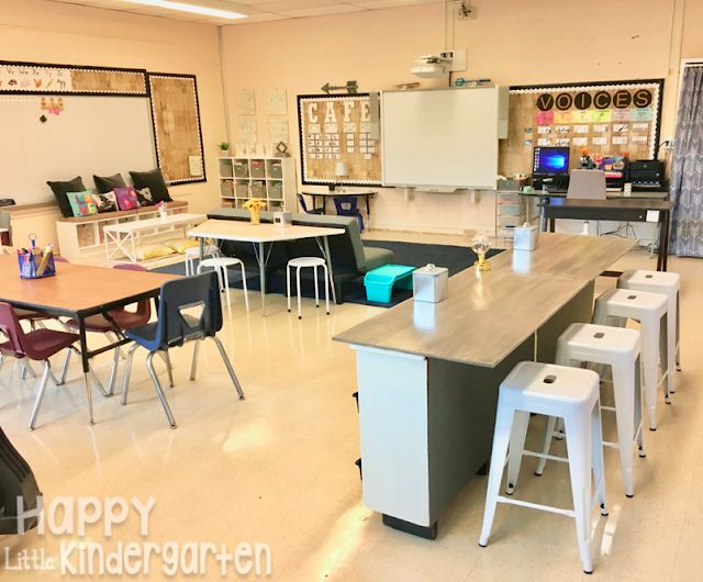 Flexible seating for first grade