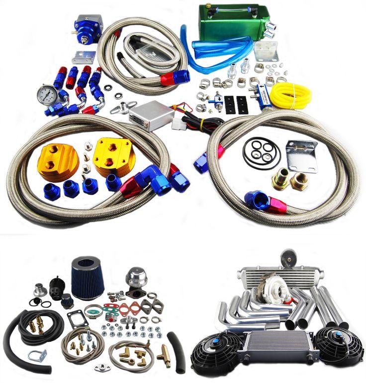BMW E46 323i/325i/328i/330i T3/T4 Chargeur De Turbo Kit in Véhicules: pièces, accessoires, Tuning et styling, Échappements | eBay