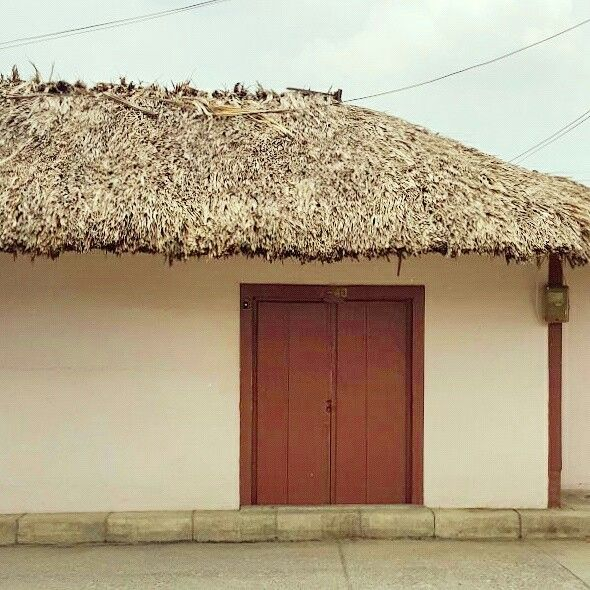 Tradicional Colombians House.