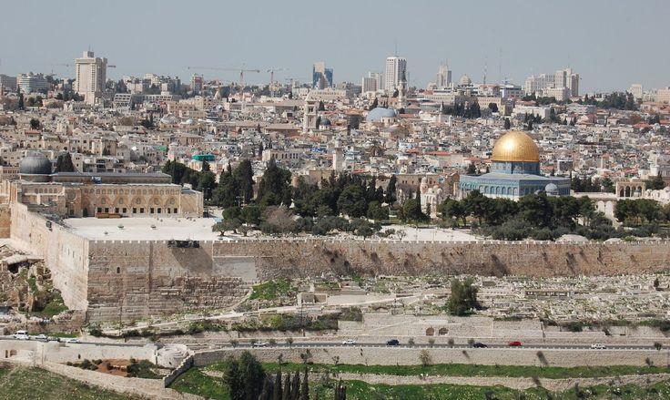 israel country | Jerusalem, Israel panoramic view