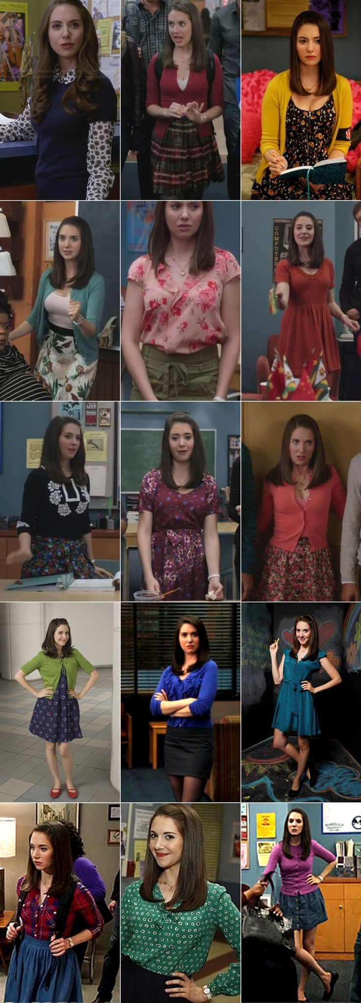 Character Fashion. Annie Edison from Community.  http://www.thissplendidshambles.com/2016/10/character-fashion-annie-edison-community/
