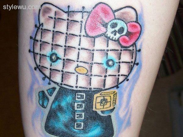 25 Fantastic Calf Tattoos - http://stylewu.com/25-fantastic-calf-tattoos.html
