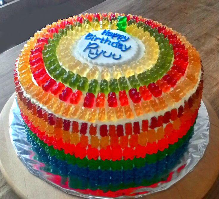 gummy bear cakes - Google Search