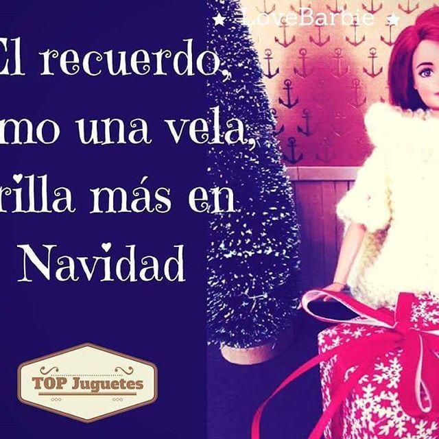 #felizjueves #diadelainmaculada #lovebarbie #lamasmona #navidad #imagenesdenavidad #frasesde Navidad #nostalgia #ochenteros #barbie #amor
