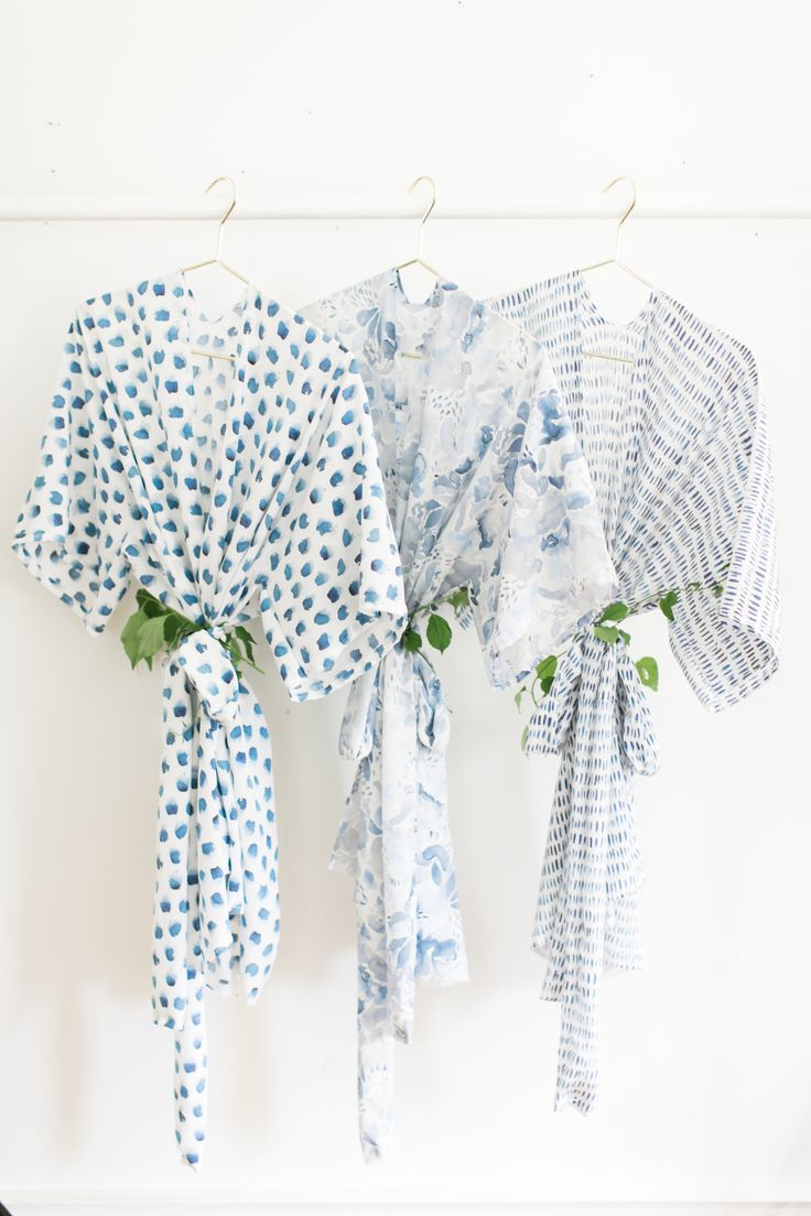 Our friends at Spoonflower are here to help us tackle a DIY that will make all your besties happy! http://www.stylemepretty.com/2017/08/09/diy-bridesmaid-robes-9-easy-steps-to-seriously-happy-besties/ Photography: Ruth Eileen - http://rutheileenphotography.com/ #sponsored