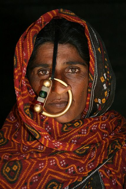 Jat woman, a tribe in Gujarat  People of the world. Beautiful in their own way