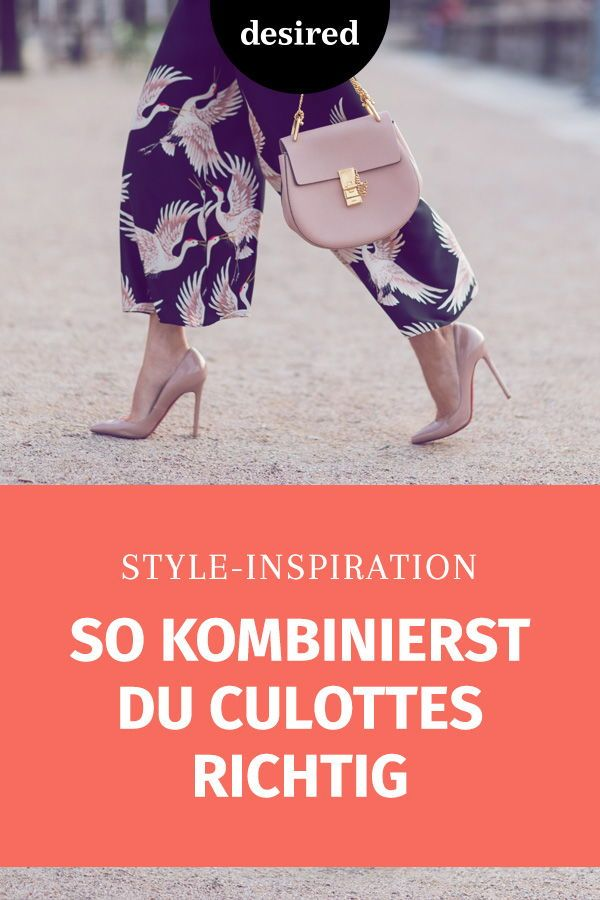 Culottes combine: So you wear the trend pants properly