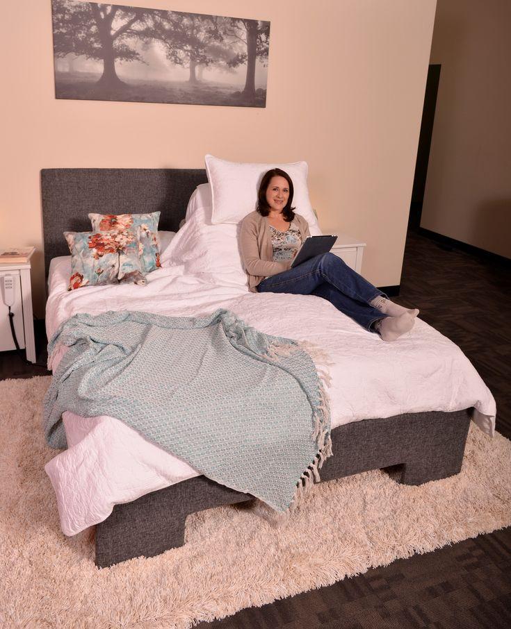Splitsystem adjustable bed. Available in SplitQueen