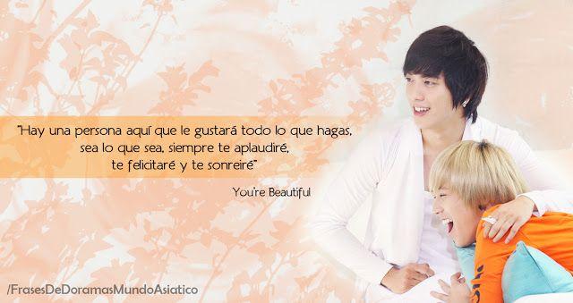 Frases de doramas: You're Beautiful