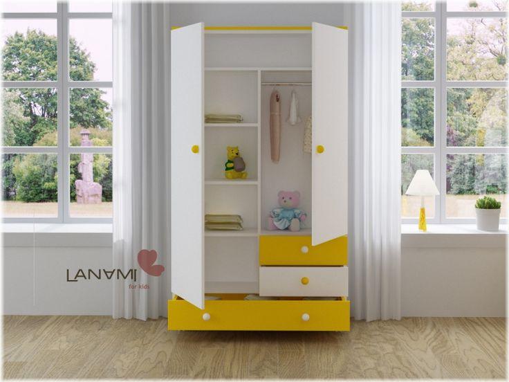 Детская мебель : Детский шкаф-комод Vesna