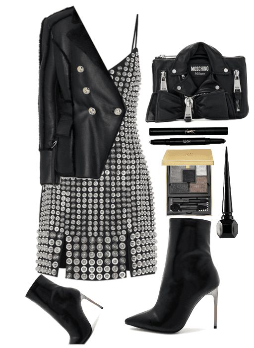 Leather Love Polyvore Outfit Shoplook Outfits In 2019