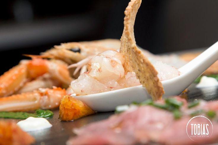 """Ecco il nostro """"Crudo di mare del giorno""""! Scoprilo da +Tobia's Pizza... Ecco il nostro """"Crudo di mare del giorno""""! Scoprilo da +Tobia's Pizza Food & Drink #Tobias  #restaurant  #CucinaMediterranea  ..."""
