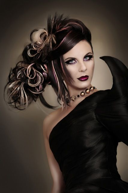Masked Beauty by Matthew Parkes | ModernSalon.com