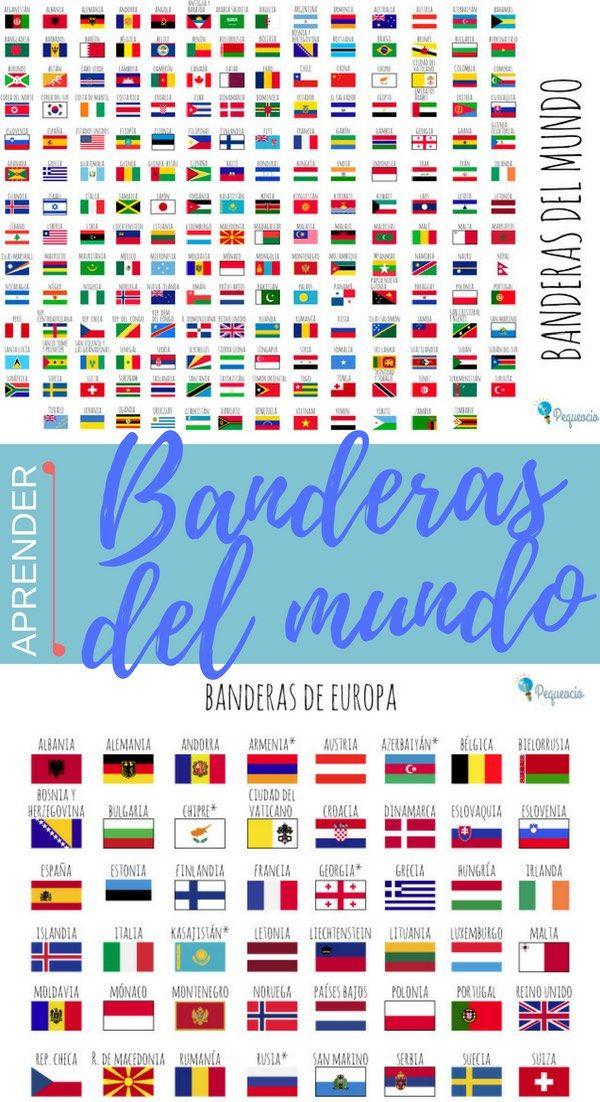 Banderas Del Mundo Para Imprimir Gratis Datos Curiosos Banderas