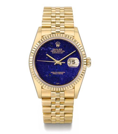 Montre vintage Oyster Perpetual Datejust de Rolex, circa 1996