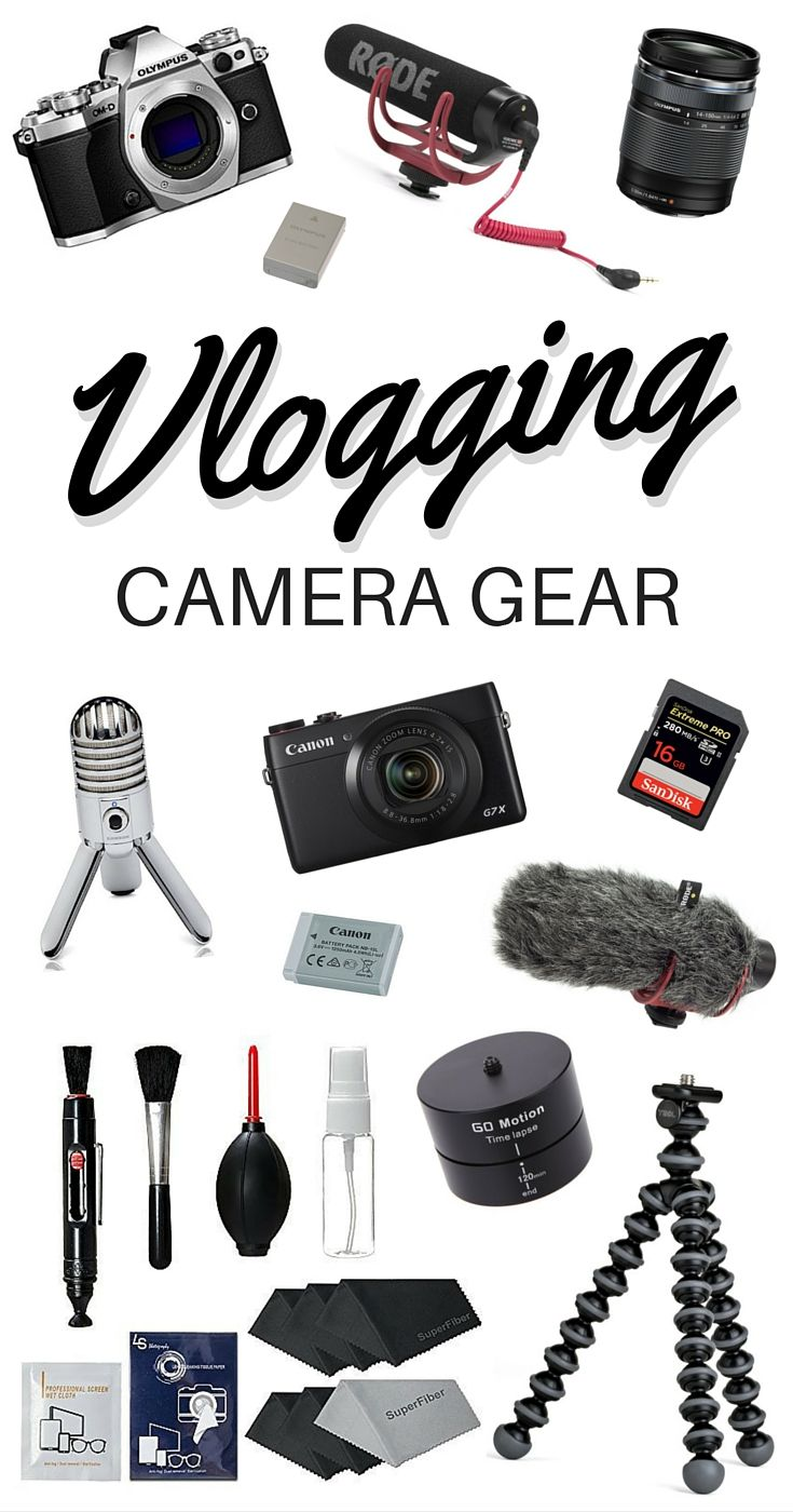What is the best vlogging camera and gear for making YouTube videos? In this article I review our vlogging cameras and gadgets.