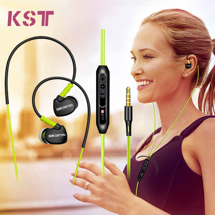 New S500 Ear Hook Style Earphone Headphones Headset Sport Leisure With Mic Volume+- Music Play/Pause/Switch & Handsfree Calls