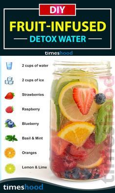 6 DIY Fruit-Infused Detox Water Recipes for Weight Loss & Glowing Skin