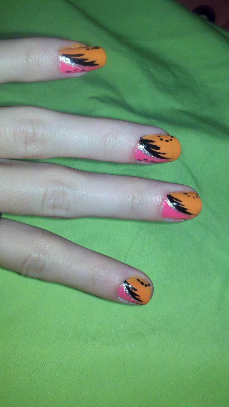 Asombroso Hello Kitty Uñas De Halloween Componente - Ideas Para ...