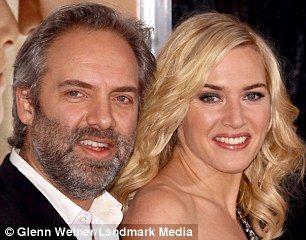 Second husband Sam Mendes and Kate Winslet