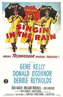 Singin in the rain l'inspiration de the Artist ?!!!