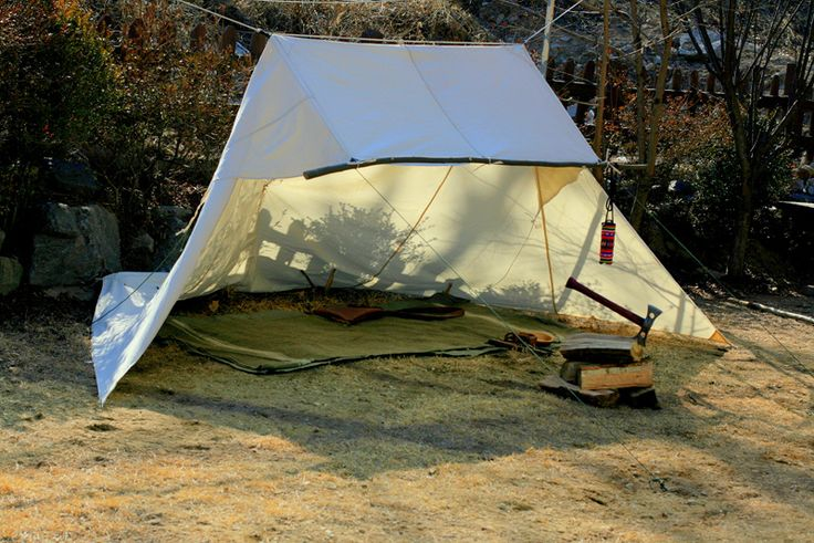 Smaller Whelen Tent Shelter by Manta Bushcraft