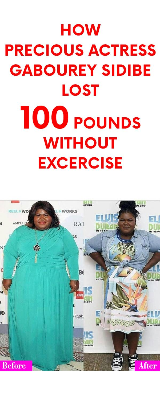Precious Actress Weight Loss : precious, actress, weight, Precious, Actress, Gabourey, Sidibe, Pounds, Without, Exercise, Pounds,, Ideal, Shape,
