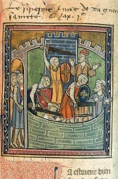 Gillermo, arzobispo de Tiro (+1186), escribió una crónica en latín que relata la historia del reino latino de Jerusalén hasta 1184.