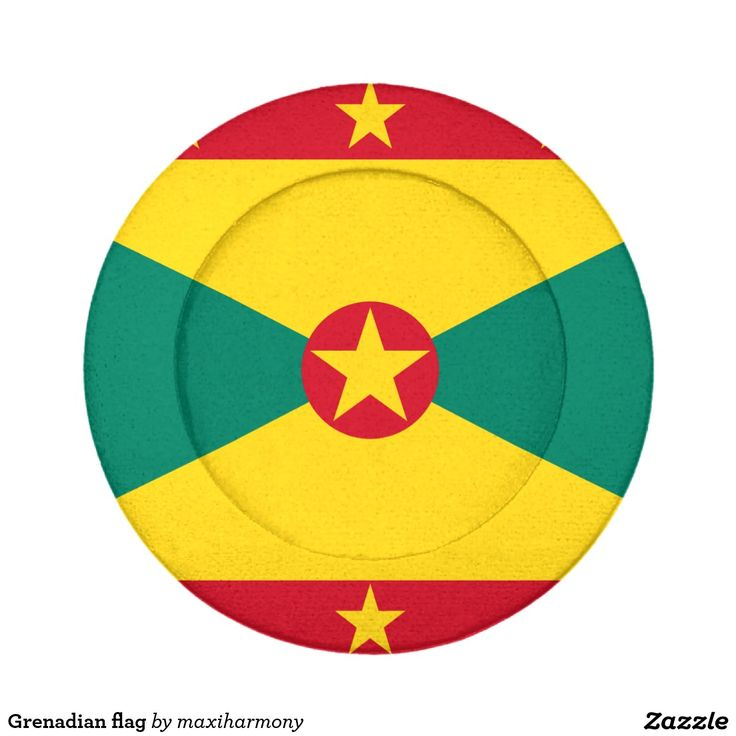 Grenadian flag pack of small button covers