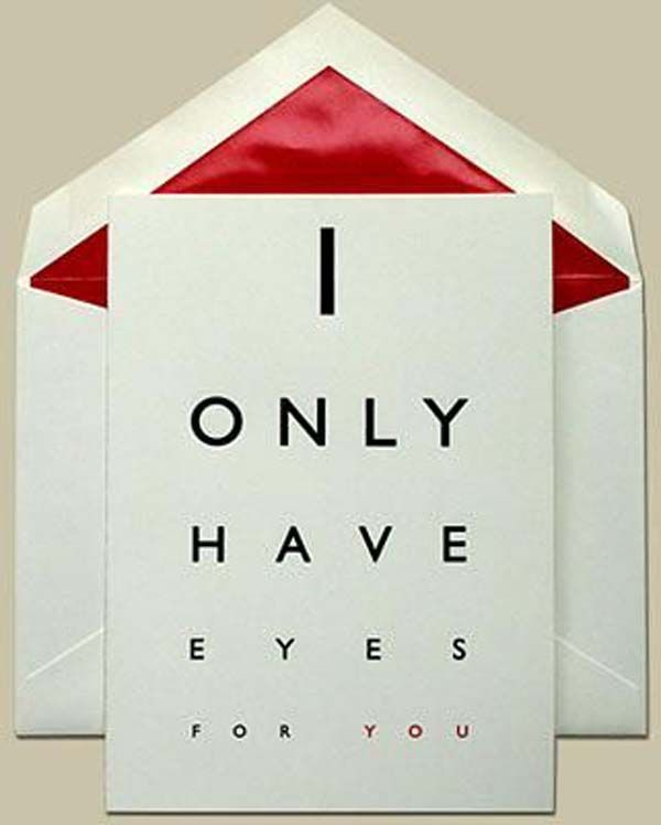 Valentine's Day Ideas 2014. Too bad my eyes are defective, sorry love!