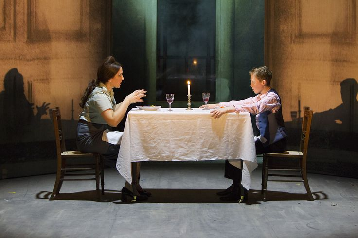The Turn of the Screw - Fiona Murphy (The Governess), Thomas Copeland (Miles) - #TurnOfTheScrew