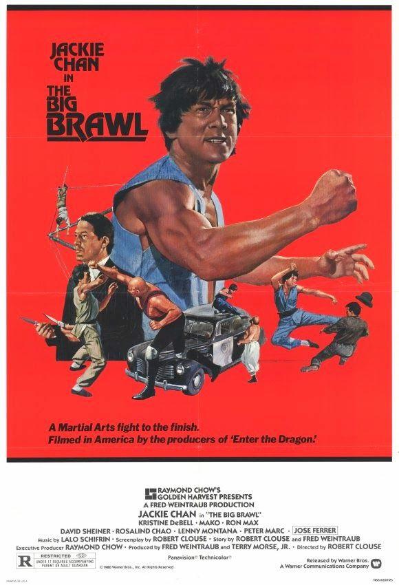 "Battle Creek Brawl (1980) Stars: Jackie Chan, Kristine DeBell, José Ferrer, Mako, David Sheiner ~ Director: Robert Clouse (aka ""The Big Brawl"")"