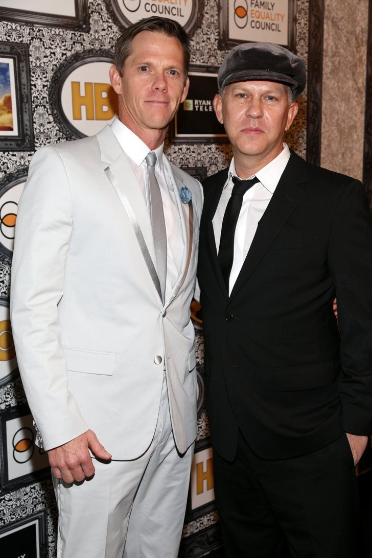 """Pin for Later: Same-Sex Celebrity Couples Say """"I Do"""" Ryan Murphy and David Miller"""