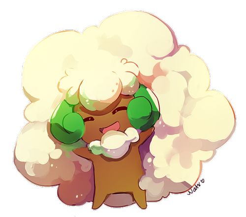 Pokemon Gijinka Sun Whimsicott Poo Grass Awesome Art Game