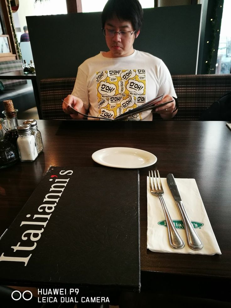 🍴🇮🇹❤️ Lunch with Grumpy 😝