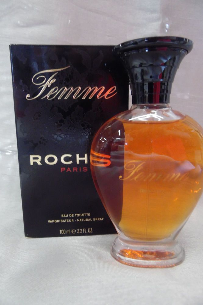 FEMME ROCHAS 3.3 3.4 OZ 100 ML EDT SPRAY NIB FRAGRANCE FOR WOMAN RARE OLD BOX   Health & Beauty, Fragrances, Women's Fragrances   eBay!
