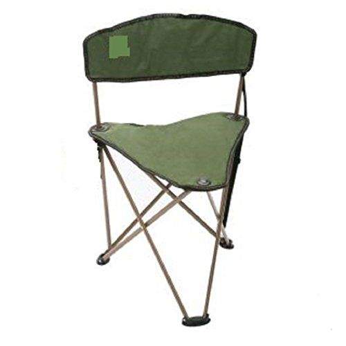 CAMPZIO Outdoor Dark Green Camping Fishing Hunting Stool Chair    Find Out  More About The