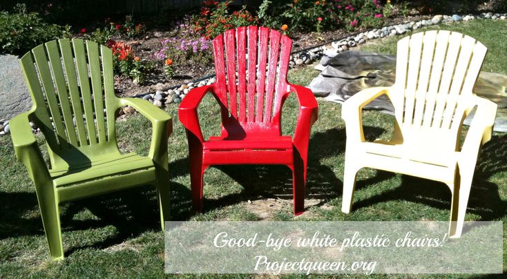 50 Best Images About Paint Plastic Chairs On Pinterest How To Spray Paint Sprays And Aerosol
